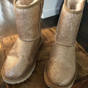 NEW UGG PURE // Classic Short style Glitter Boots